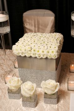 Beautiful Decor for centerpieces!   Get your four complimentary tickets to one of our Luxury Bridal Events at www.bridalexpotickets.com