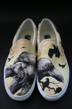 "LOVE these Raven ""Art Kick"" Shoes by Cam....{{{{want some!!}}}}"