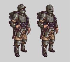 Feudal World Guardsman by L3monJuic3