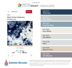 I Found These Colors With Colorsnap Visualizer For Iphone By Sherwin Williams Reflection Sw