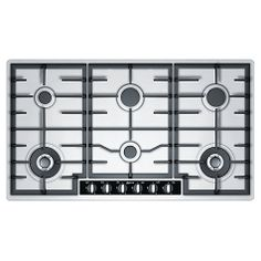 Buy Neff T29S96N1GB Gas Hob, Stainless Steel Online at johnlewis.com - £499