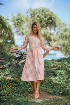 modest fashion, modest bridesmaid dresses, modest clothing, modest dresses, modest skirt, modest top, modest apparel, hijab, long sleeves, 3/4 sleeves, modest swimwear, ruffles and lace, long dress, modest swimsuit, bow dress, lace dress, elegant, victorian, vintage, bridesmaid, wedding, flower girl, plus size, peach Merry Go Round Dress