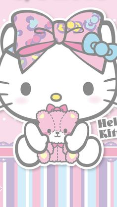 Hello Kitty & her Teddy (*^◯^*)