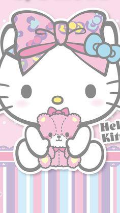 Hello Kitty & her Teddy (*^◯^*)