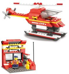 0225 Sluban City Fire Station Building Blocks Sets hobby DIY Model Toys Bricks Compatible with Lego Firefighter Minifigures  1. DIY Building Block 2.All customer will receive a free gift —Crocodile Dismantling device     1.Without original g ..  http://playertronics.com/product/0225-sluban-city-fire-station-building-blocks-sets-hobby-diy-model-toys-bricks-compatible-with-lego-firefighter-minifigures/