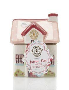 Kirstie Allsopp Jotter Pot with Notelets - Marks & Spencer
