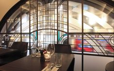 Art Deco | Stained Glass • Hawksmoor Restaurant, Piccadilly, London
