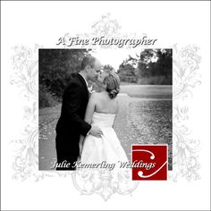 Visit us at www.afinephotographer.com - email me about signature weddings at juliekemerling@comcast.net