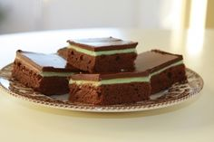 Mint Brownies (made from scratch)! recipes-i-want-to-try