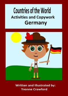 This booklet focuses on the country of Germany. Your students will learn facts about Germany while practicing their manuscript and cursive handwrit...