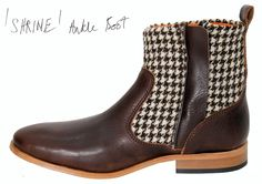 Shrine Ankle Boot @ jaggynettle.com