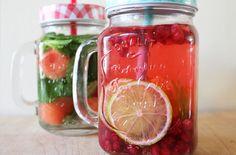 Verfrissende fruitdrankjes zijn niet alleen leuk om te zien, maar ook healthy! ;)