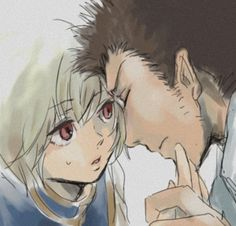 Kurapika and Leorio | Leopika ... I really ship themmmmm!!!!! Hunter X Hunter