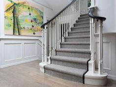 Painted Staircase Ideas ~ When it pertains to the home, we're about including shade as well as creative thinking in unexpected areas. From art in the Loovre to vivid furniture ... Read more