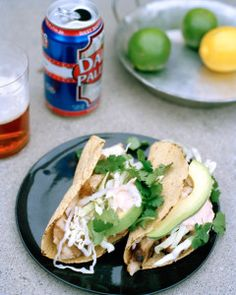 Fiesty Fish Tacos