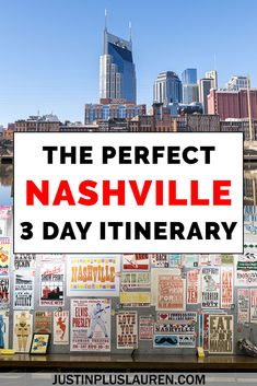 3 Days in Nashville Itinerary: How to Spend the Perfect Extended Weekend in Nashville - - Here's how to spend an amazing 3 days in Nashville to plan your Nashville trip. This weekend in Nashville itinerary shows you where to eat, stay, and play. Weekend In Nashville, Nashville Vacation, Nashville Tennessee, Tennessee Vacation, Girls Trip Nashville, Nashville Things To Do, East Tennessee, Places To Travel, Travel Destinations
