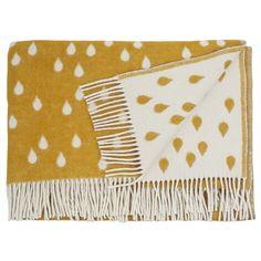 Rainy Days Plaid 130x180 cm, Honey, Brita Sweden