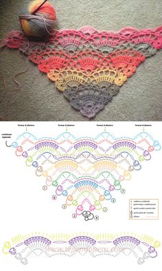 Crochet Shawl - Video tutorial is here: https://youtu.be/RYns_nLvZYo