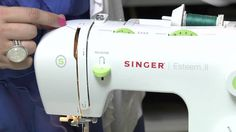 First Steps: Threading Your Sewing Machine excellent video on threading the Simplicity machine!!! With a bobbin case like the machines at RMS.