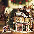 Dept 56 New England Village,Wheaton Christmas Bakery
