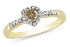 Want something different? Try a beautiful brown diamond ring! #DealOfTheDay