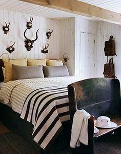 rustic bedroom-
