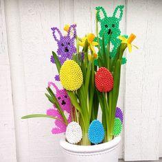 Easter decoration hama perler beads by Annas mat och bak (Ide & Hobby)