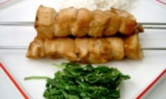 Honey soy chicken skewers - Kidspot