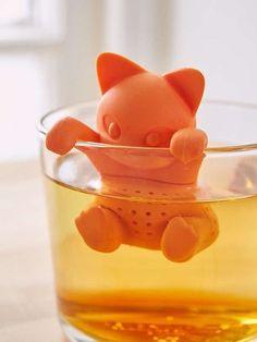 boule à thé chat