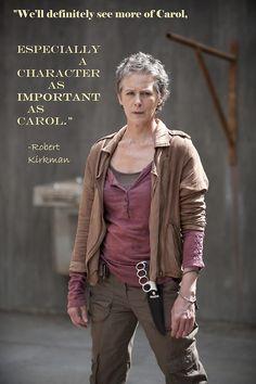 Carol Peletier  YES!!!!