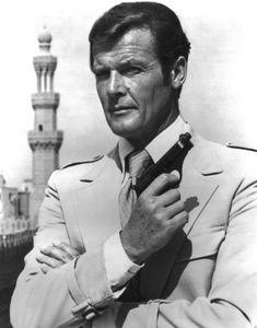 Roger Moore... My favorite 007