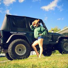 Girls Who Drive Jeep Wrangler - Bing images Trucks And Girls, Car Girls, Big Trucks, Girl Car, Jeep Wrangler Girl, Jeep Wrangler Unlimited, Wrangler Rubicon, Jeep 4x4, Jeep Truck