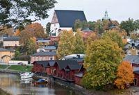 Porvoo, Finland. Sooo gonna visit this spring!