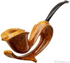Intriguing.  Maigurs Knets Smooth Aussie Calla Lily Pipes at Smoking Pipes .com