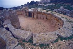Temple of the Goddess on Malta, known as the Tarxien Temples, were built circa 3150 BC.