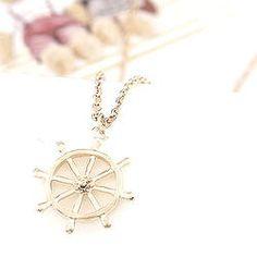 Nautical Helm Necklace