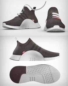 """fc2ca6ff716 Yanko Design on Instagram  """"The Adidas Primeknit series is here to collide  head-on with Nike s Flyknit. Last year"""