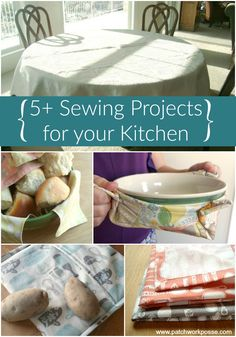 sewing project for your kitchen time to make it look cute