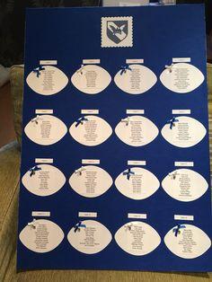 Wedding Gift Ideas Rugby : ... wedding seaside wedding rugby dance rugby wedding ideas ball table