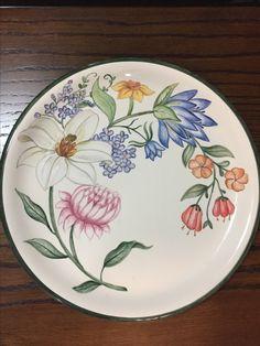 Prato de cerâmica pintado à mão!