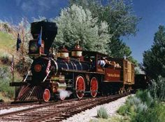 The Wild Wild West TV Show Train