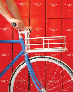 Packaging of the World: Creative Package Design Archive and Gallery: Copenhagen Parts – Bike Porter