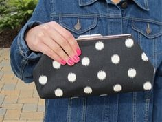 STORE-WIDE CLEARANCE! Now $30.25! HANDMADE ARTISAN CUSTOM CLUTCHES IN THREE PATTERNS! * 10% of all sales go to charity.