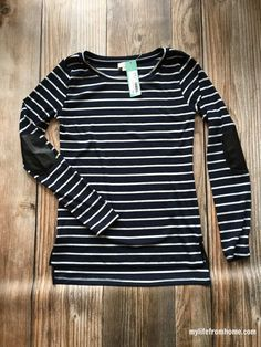 pixley greenich striped knit top - Google Search