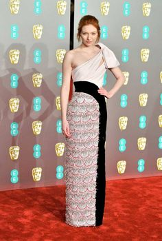7f9a9dc3e24 Eleanor Tomlinson s BAFTA Weekend Was An Exercise in Elegance