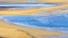 Playa de Oriente de Jandía en Fuerteventura.