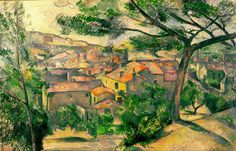 Paul Cézanne, Morning View of L'Estaque Against the Sunlight, 1882-83, The Israel Museum, Jerusalem.