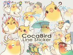 [LINEスタンプ]Coca Bird/ErA