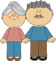 Grandparents Clip Art Image Clipart 38032 By Alex Bannykh Pictures Primary Singing Time, Primary Music, Lds Primary, Church Activities, Preschool Activities, Growing Old Together, School Clipart, Grands Parents, Family Images