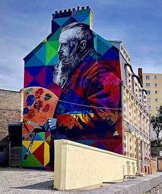 Eduardo Kobra | Monet
